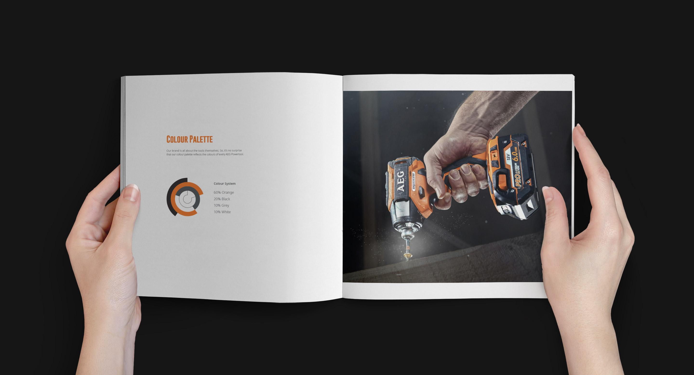 AEG Mark Of A Tradesman - Brand book